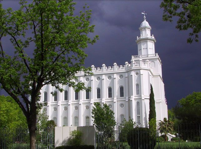 St. George Utah Temple. #MormonTemple