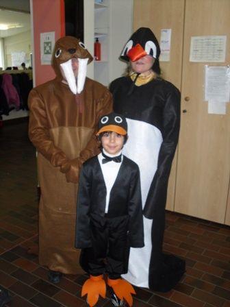 Costumi da pinguino e tricheco  Autrice Giovanna