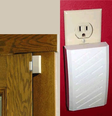 Motion Detector With Remote Alarm Has A Chime Amp Melody