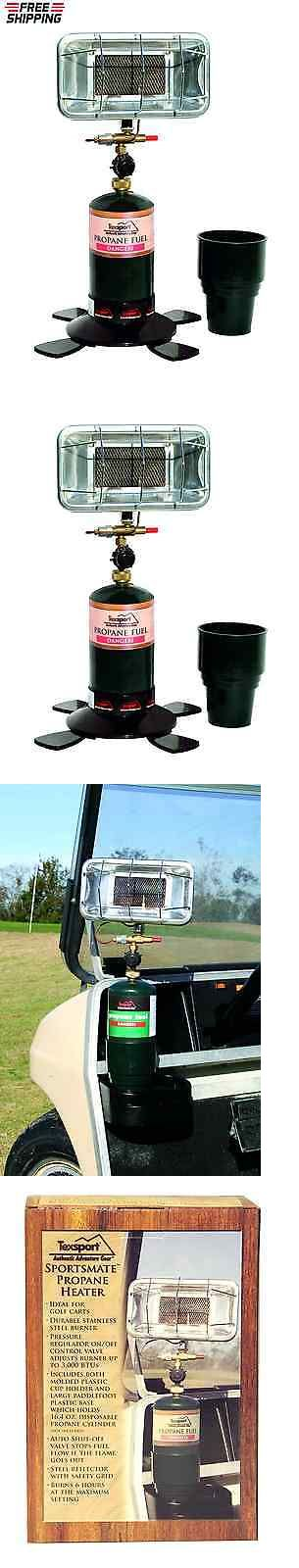 Generators and Heaters 16039: Texsport Portable Propane Heater For Golf Cart, Camping, Fishing Boat, Outdoor BUY IT NOW ONLY: $56.18