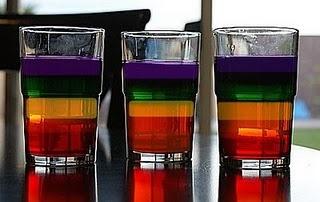 rainbow jello -perfect for st. patrick's day