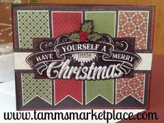 Have Yourself A Merry Little Christmas Handmade Card