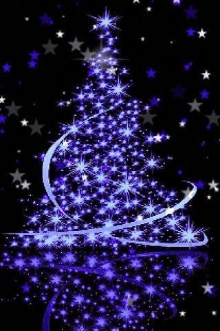 17 best images about purple christmas on pinterest - Purple christmas desktop wallpaper ...
