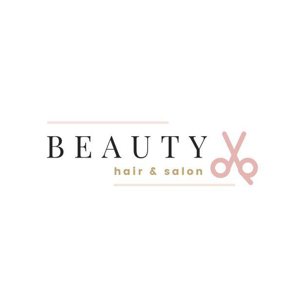 Beauty Salon Logo Design Vector Free Vector Free Vector Freepik Vector Freelogo Freebusiness Freelabel Freedesign In 2020 Salon Logo Beauty Salon Logo Beauty Salon Design