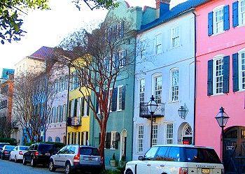 Rainbow Row, Charleston, South Carolina! http://www.gypsynester.com/csc.htm