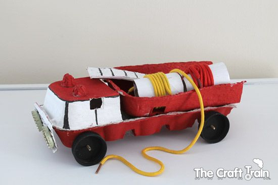 The Craft Train: Fire engine craft and a bush fire story.