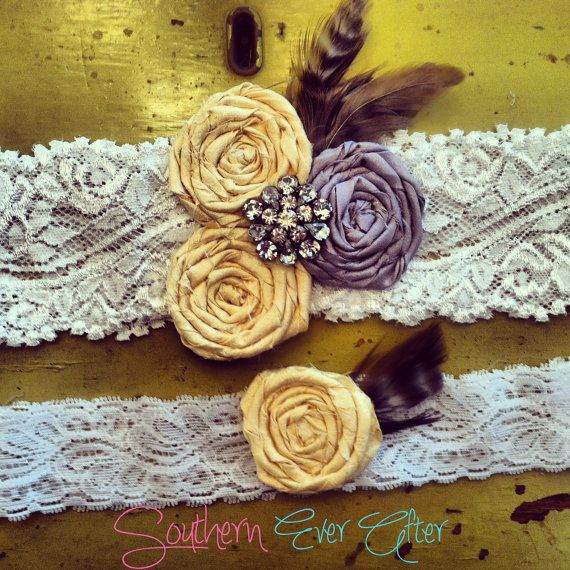 SALE  GWENDOLYN GARTER/ Wedding garter / by SouthernEverAfter, $24.99