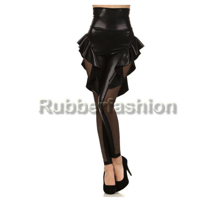 Wetlook Glanz Strech Hüft Leggings mit Rüschen Netz #Stretch #Glanz #Wetlook #Leggings #Leggins #Legings #Legins #Hose #Rüschen 16.90 EUR inkl. 19% MwSt. zzgl. Versand
