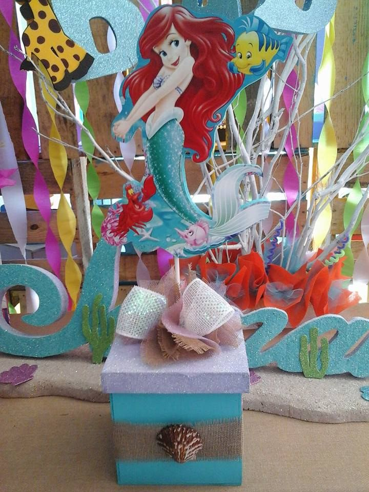 13 best images about princesa ariel the little mermaid - Manualidades y decoracion ...
