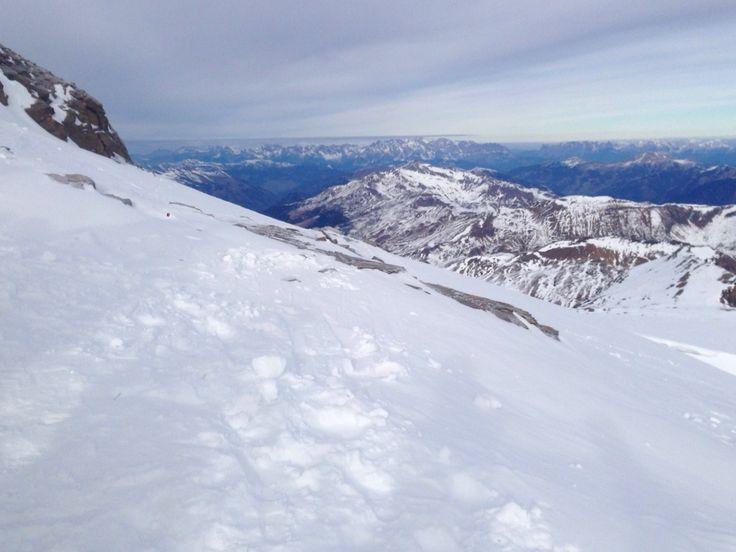 Sneeuwschoen wandelen op de Mölrtaler Gletscher