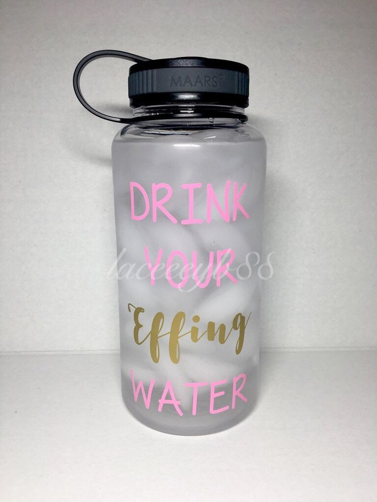 Drink Your Effing Water Bottle,Water Tracker Bottle, Water Tracking Bottle, Water Motivation Bottle, Drink Your Water, Gym Water Bottle,32OZ by laceeeyb88 on Etsy https://www.etsy.com/listing/494138269/drink-your-effing-water-bottlewater