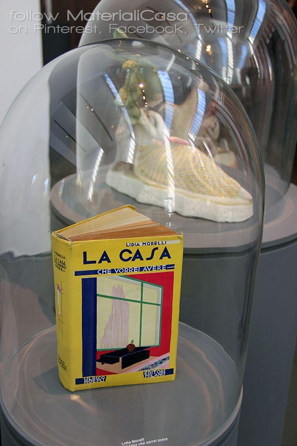 "Vintage design book at ""W.Women in Italian design"" on show at #laTriennale. #MDW2016 #MCaroundSaloni #MilanDesignWeek"