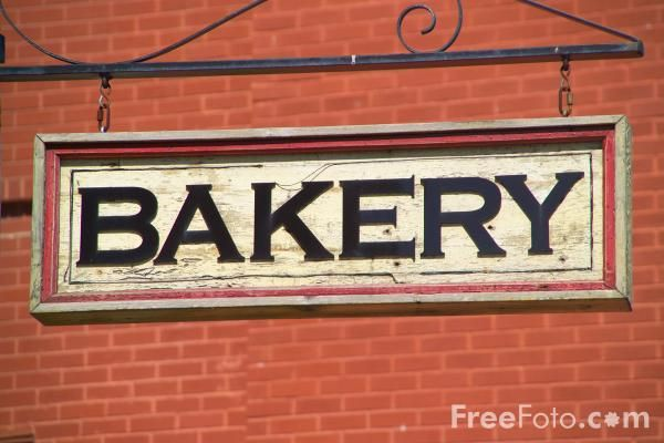 Picture of Bakery Sign