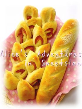 「* ベーコンエピ to フランスパン ♪」cherry♪   お菓子・パンのレシピや作り方【corecle*コレクル】