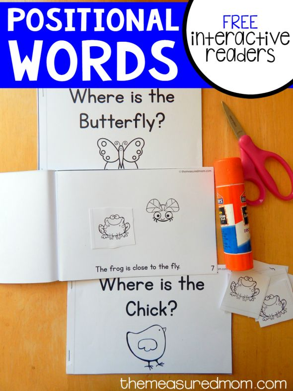 Free positional words activity