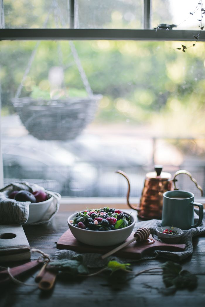 Plum & Summer Berry Lavender Crisp + A Copper Giveaway by Eva Kosmas Flores: