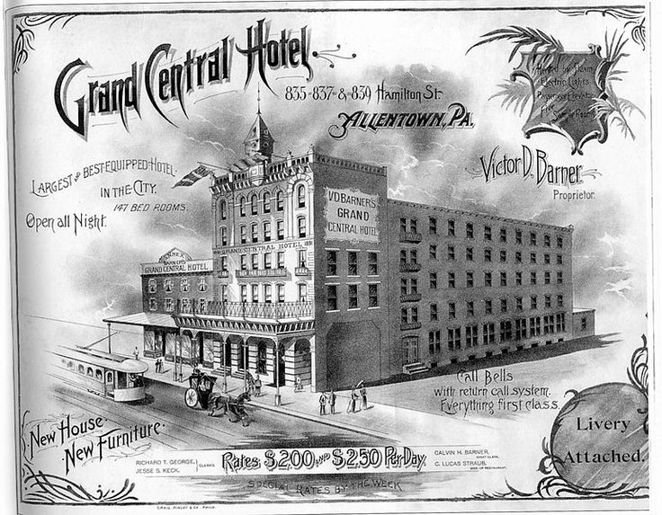 It Was In This Building That Max And Charles Hess Began Hess Brothers  Department Store. Eventually They Would Take Over The ...