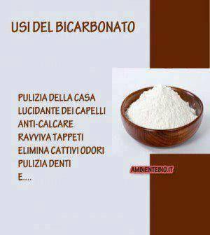 Usi del bicarbonato