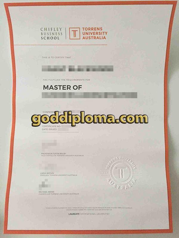 Where To Buy The Torrens University Australia Fake Diploma Buy The