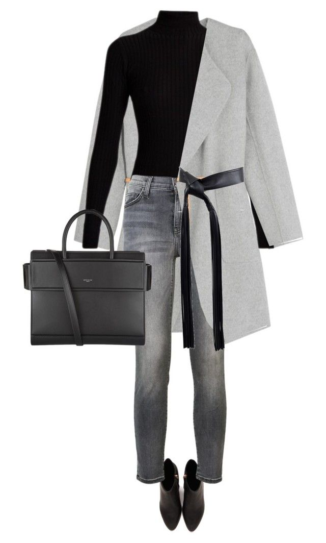 """""""street style"""" by ecem1 ❤ liked on Polyvore featuring Alexander Wang, Vanessa Bruno, Acne Studios, Current/Elliott, Michael Kors and Givenchy"""