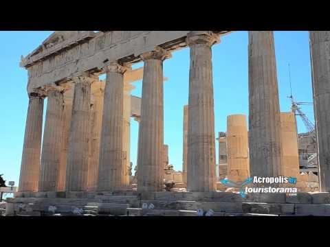Parthenon Temple in Acropolis of Athens -  Greece