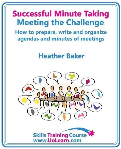 how do you take minutes of a meeting