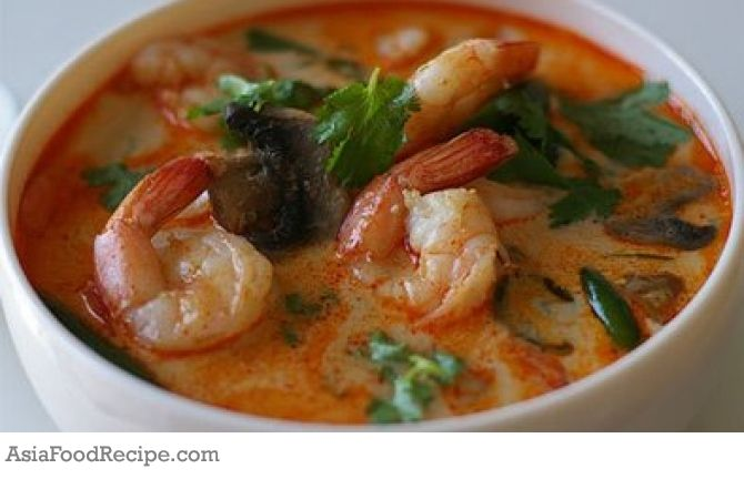 Thai Tom Yum Soup | Asia Food Recipe | Food | Pinterest