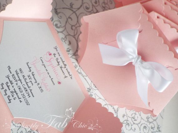 Bsta Diaper Invitations Iderna P   Dekorationer