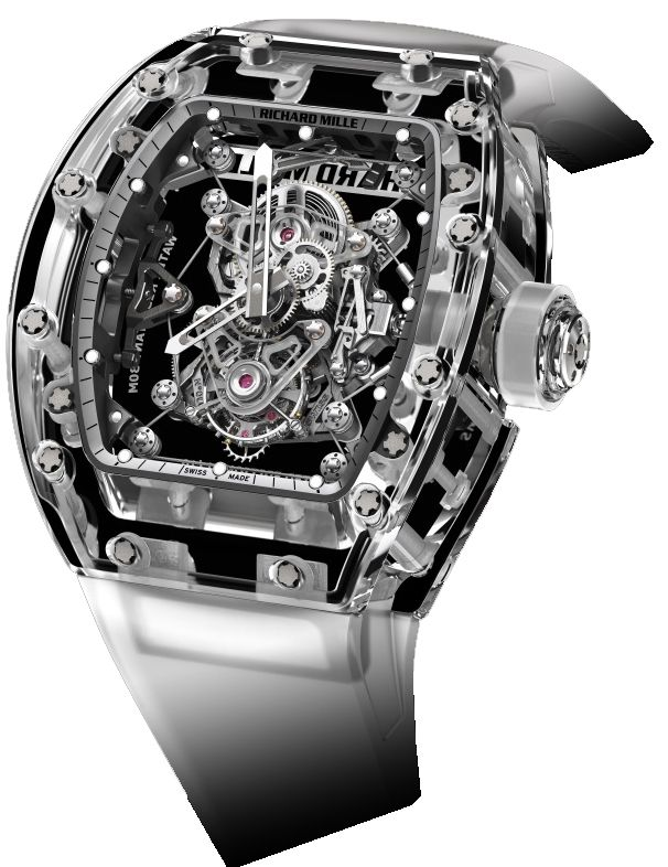 Richard Mille's Million-Dollar-Plus Sapphire-Cased Watches