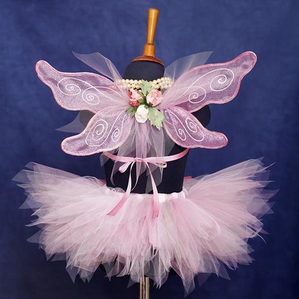 Детские новогодние костюмы феи с крыльями