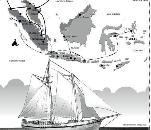 Sejarah mencatat Kerajaan Sriwijaya pernah berjaya mengendalikan pelabuhan internasional di kawasan Asia Tenggara. Luasnya wilayah kekuasaan Sriwijaya.