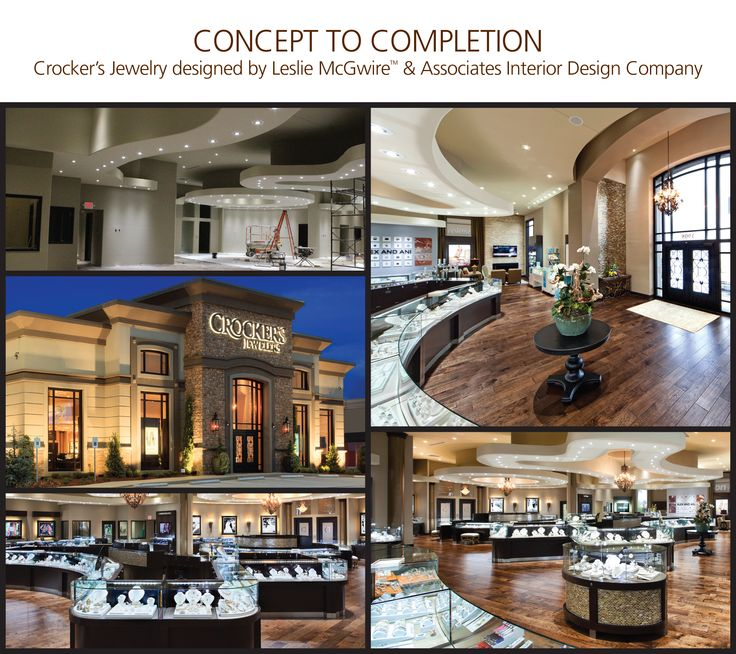 19 best images about 2016 america 39 s coolest jewelry stores for Commercial interior design companies