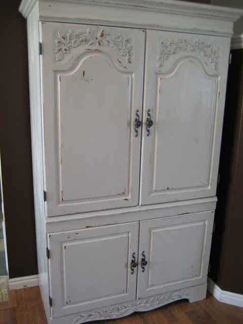 Paint Me Shabby Kitchen Pantry Cabinet Food Storage Pantry Pinterest Kitchen Pantry