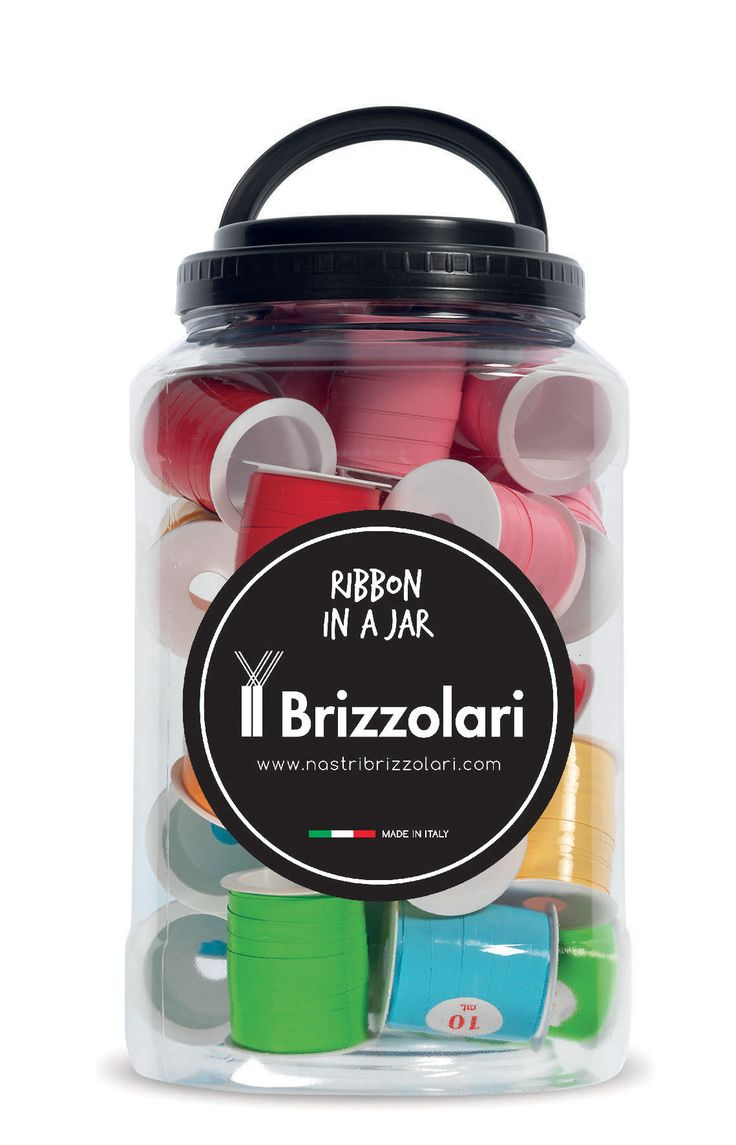 Ribbon in a Jar #nastribrizzolari #ribbon #ribboninajar