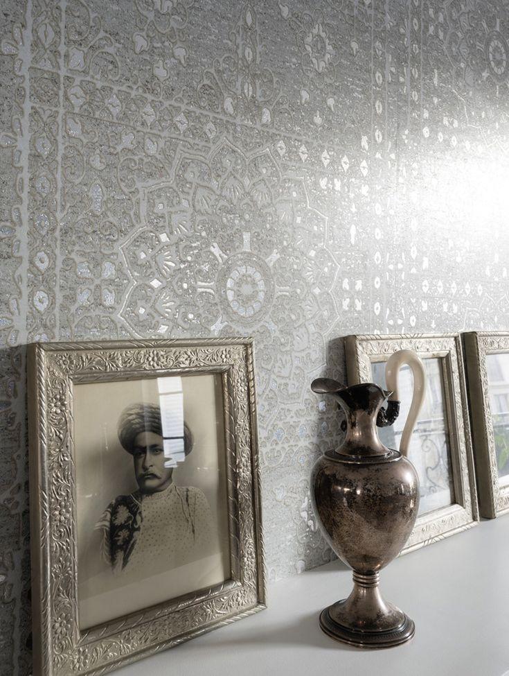 187 best papier peint oriental images on pinterest. Black Bedroom Furniture Sets. Home Design Ideas