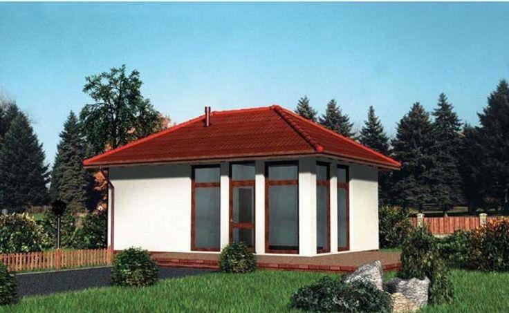 DOM.PL™ - Projekt domu AN PAWILON HANDLOWY 01 CE - PAWILON AN6-59 - gotowy projekt domu