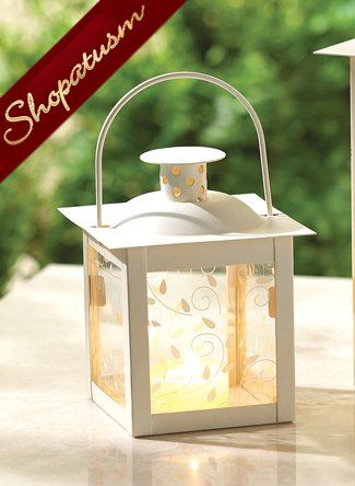 10 wholesale small white candle holders lanterns