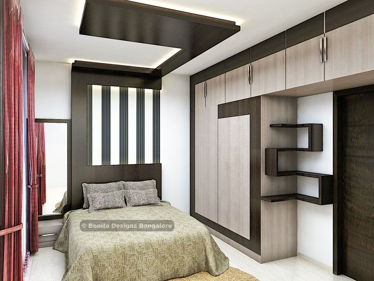Have a close look at this design. Have you ever think that parents bedroom can be designed like this?   But we did for one of the clients at Sobha Classic, Bangalore - bonito.in