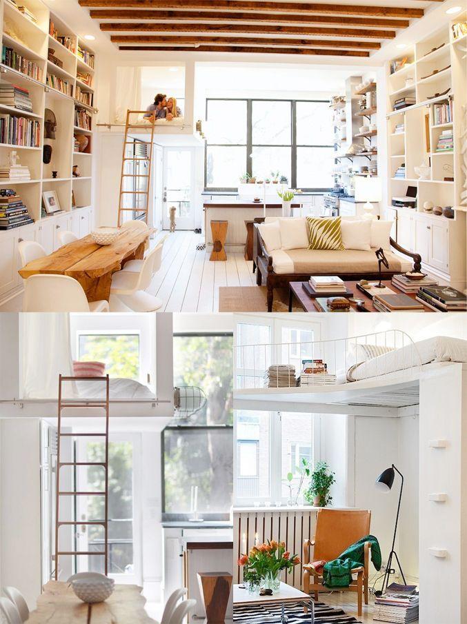 1000 idee n over klein wonen op pinterest decoreren kleine ruimtes kleine ruimte meubelen en - Outs kleine ruimte ...
