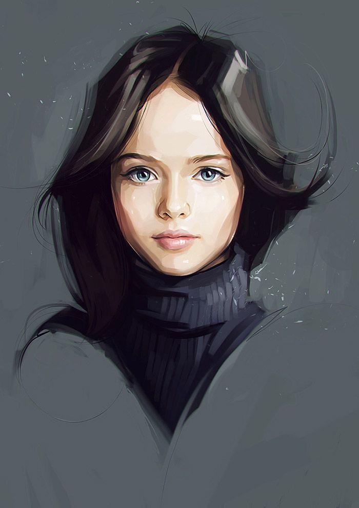 New Celebrity Illustrations by Viktor Miller-Gausa
