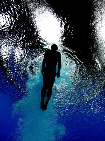 Jack Laugher, men's 3m springboard diving, London 2012