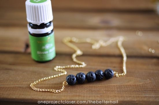 Step by Step tutorial to make your own diy essential oil diffuser necklace & reap the benefits of your Young Living Essential oils, looking cute & trendy.