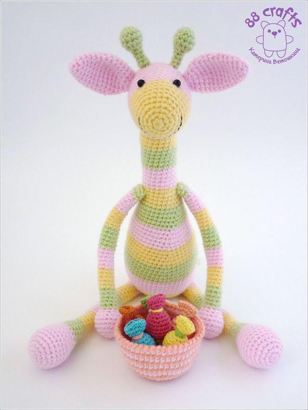 88 Artigianato: giraffa