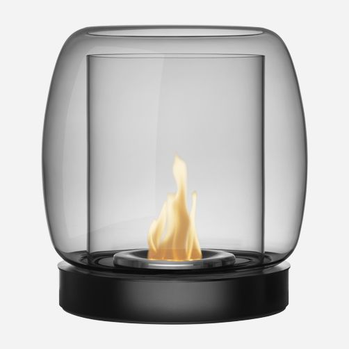 Kaasa is a modern fireplace inspired by an ancient beacon (Ittala)