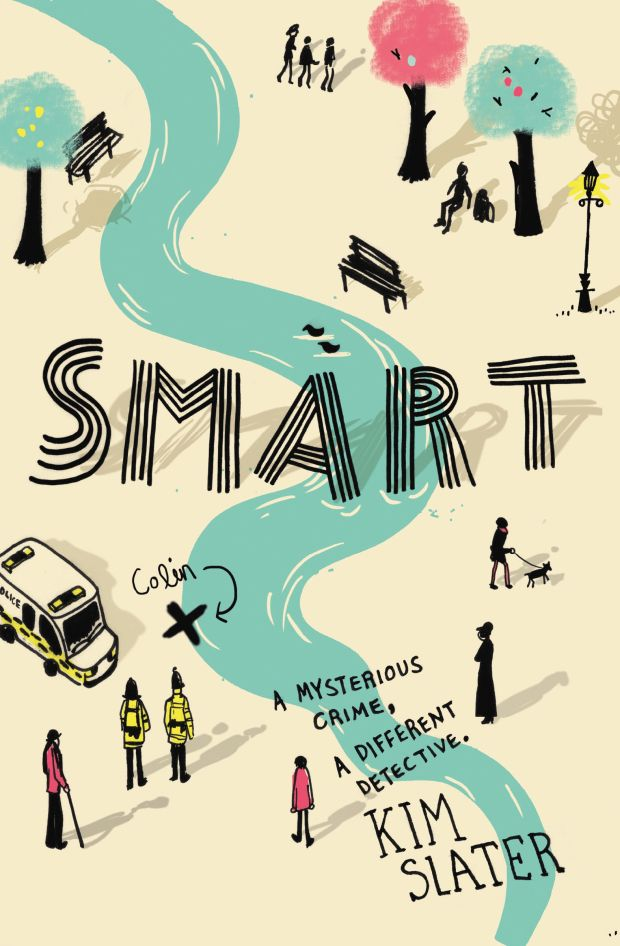 Smart by Kim Slater; cover illustration by Helen Crawford-White / Studio Helen (Macmillan Children's Books / June 2014)