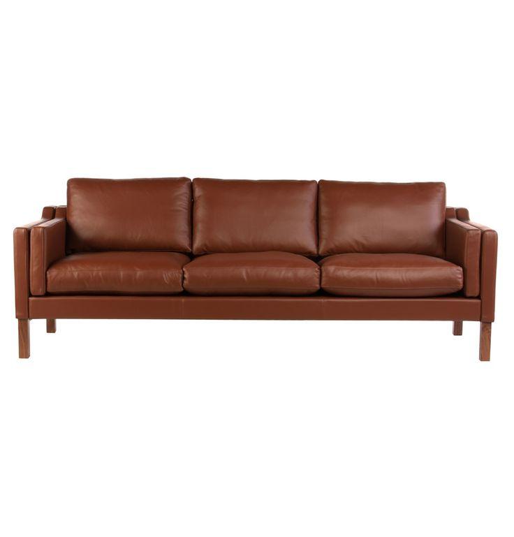 The Matt Blatt Replica Borge Mogensen 3 Seater Sofa by Borge Morgensen - Matt Blatt