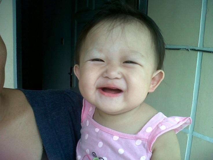 Do u like my smile huh?
