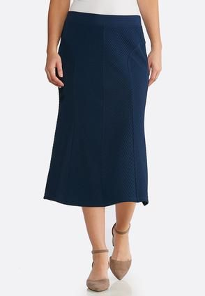f2cb5974be Plus Size Textured Mermaid Midi Skirt Skirts Cato Fashions in 2019 |  Clothes I love | Fashion, Skirt fashion, Skirts