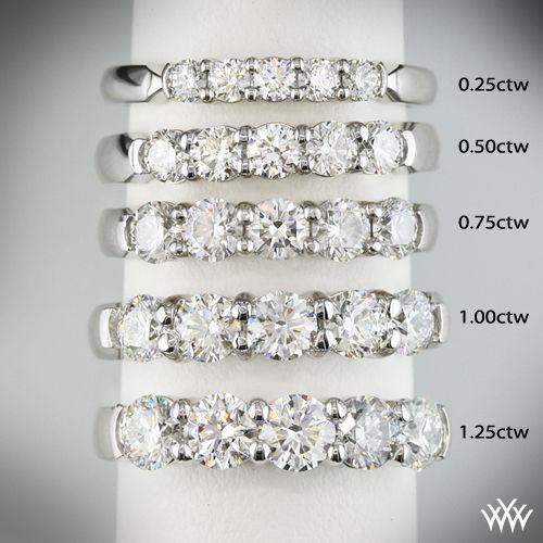 Shared Prong  Carat  Stone Diamond Ring