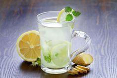Limonada Helada de Té Verde y Jengibre | DiabeTV